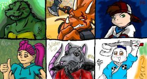 Collab Sub-Characters by Raphaelsgirl