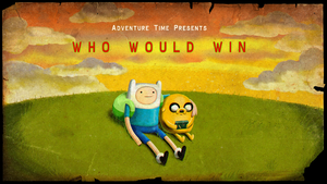Who Would Win? Title Card! by adventuretimegurl123
