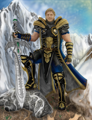 Captain of the Guard Rond Kelfem by elDrow