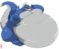 Whitefang Comission by saintdraconis