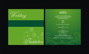 Wedding card by syedmaaz