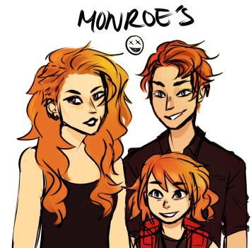 Monroe Siblings by findingghost