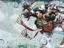 Wallpaper Soul Calibur: Talim by shirotsuki-hack
