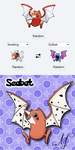 PokeFusions: Seabat by SunsetSovereign