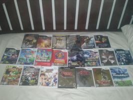 My Collection of Wii and Gamecube Games by DestinyDecade