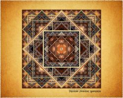 TibetanFractal Mandala by love1008