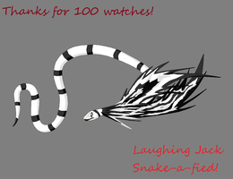 Thanks for 100 watchers! by youngguardian