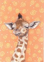 Sleepy Giraffe by SavageArt