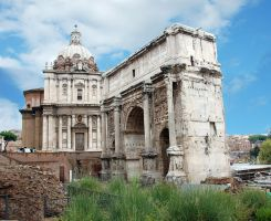 Rome - Arch of Septimus Severus 2 by Lauren-Lee