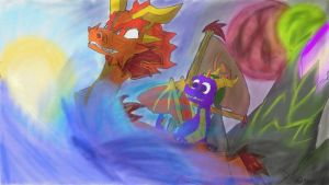 Legend of Spyro: The Wind Waker by AtomicPhoton