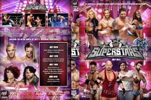 WWE Superstars July 2013 DVD Cover by Chirantha
