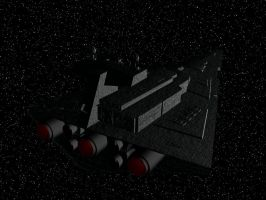Star Destroyer 1 by phantomcameron