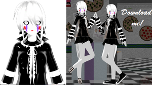 The Marionette (Puppet) MMD Model Download by WachayWabush
