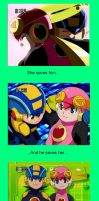 Megaman X Roll Forever - SS by megamanxroll