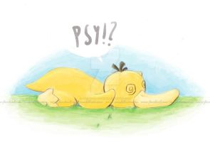 Psyduck - such confuse! by icanhazcuteness