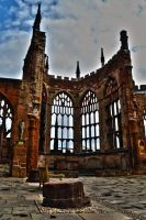 Coventry Cathedral by demamonik