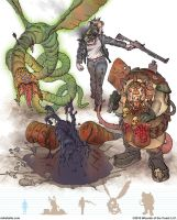 Gamma World Monsters 9 by MikeFaille