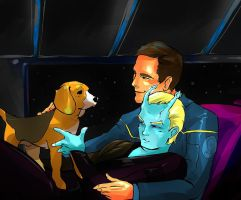 Shran Archer CUDDLY THING by Waterwindow
