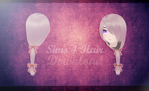 MMD SIMS 4 - Hair 3 - [DOWNLOAD][DL] by Milionna