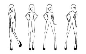 Clothing Design Template by balletbunhead20