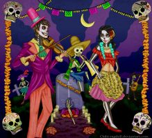 Day of the Dead - Carnaval by Chibi-Ragdoll