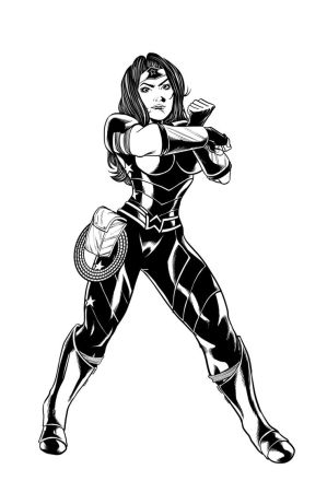 Donna Troy Commission by MarcelTheSouza