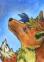Commission: ACEO/ATC: Wind of Change by Samantha-dragon
