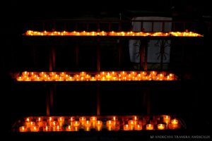 Mainz Cathedral Candles I by Tramira