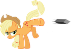 Badass Applejack by EMedina13