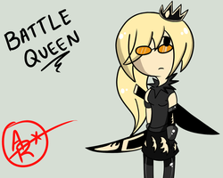 Battle Queen  by ask-kytothehero