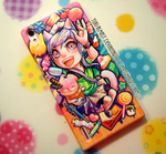 Mobile Case Design (for my gf) by Yuki-Almasy