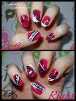 Nail Art: SHINee by Delinlea