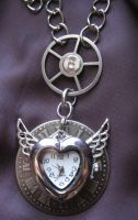 Steampunk Ticking Heart Request by PunkTrunk