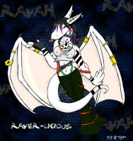Me looking raver-ish by dragon-chan