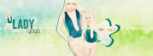 Lady Gaga Facebook Cover by carmenart-ca
