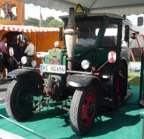 vintage tractor V by two-ladies-stocks