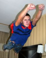 Superman- Mean Face by Della-Stock