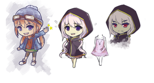 Chibis by Syea