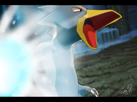 Golduck Ice Punch by GalletoconK