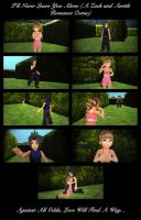 Zack and Aerith - I'll Never Leave You Alone by rev-rizeup