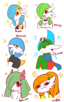 Some Pokeuser Doodles by ErisaFate