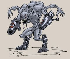 Cyborg Monster by Sliv