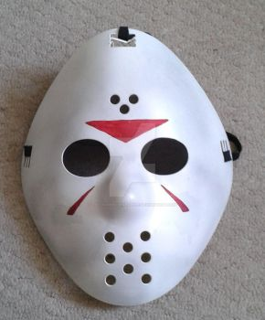 jason mask by The-Rubber-Pineapple
