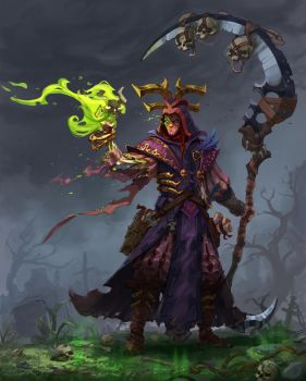 young necromancer by Trufanov