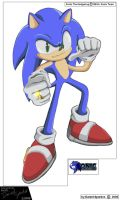 Sonic The Hedgehog 2008 by Dan123