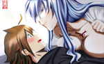 Esdeath x Tatsumi - You Belong to Me by Seitokain