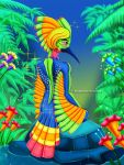 Anthro - Exotic Avian by DaphInteresting