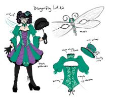 Cosplay Design: Dragonfly EGL by Tomecko