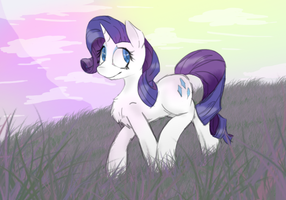 Rarity auwwu by Haxthewolf