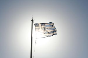 greek flag by lunde88